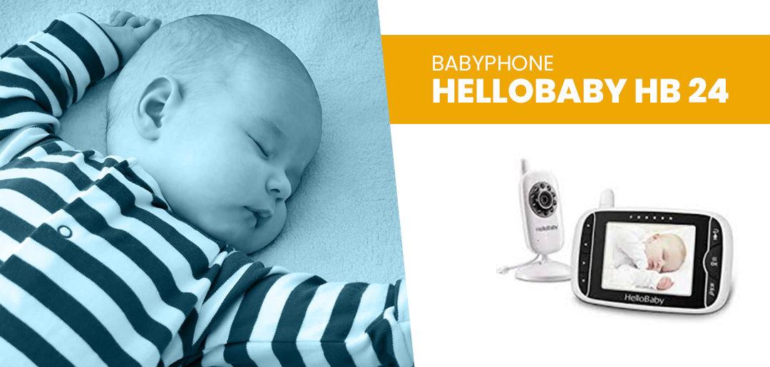 Babyphone HelloBaby HB 24