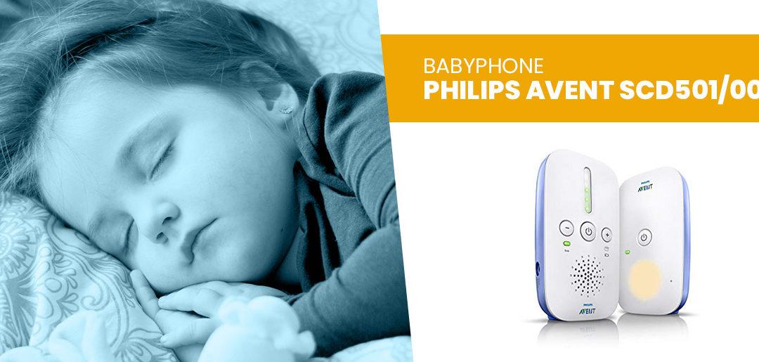 Babyphone Philips Avent SCD501/00