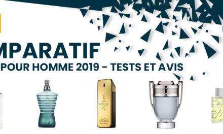 Comparatif des meilleurs parfums homme 2020