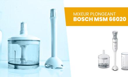 Mixeur plongeant Bosch MSM 66020