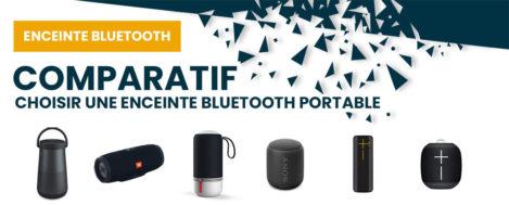 Choix meilleure enceinte Bluetooth portable