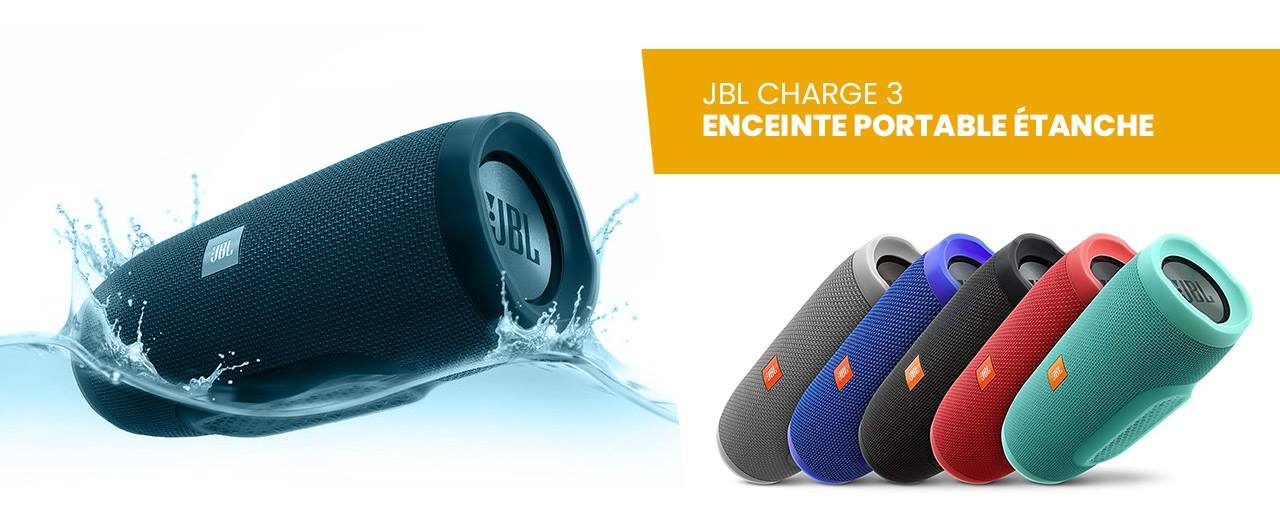 Test produit JBL Charge 3