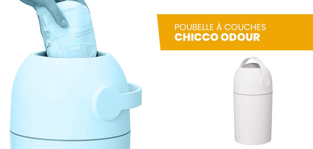 Avis poubelle à couche Chicco et test du produit par nos soins