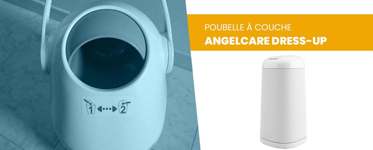 Avis poubelle à couche Angelcare Dress-up