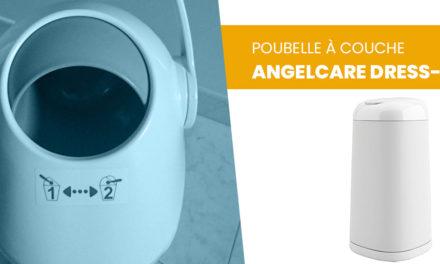 Avis poubelle à couche Angelcare Dress-up et test du produit par nos soins