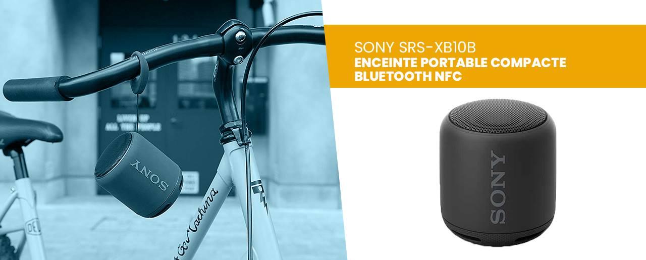 Test et avis enceinte bluetooth portable Sony SRS XB10B