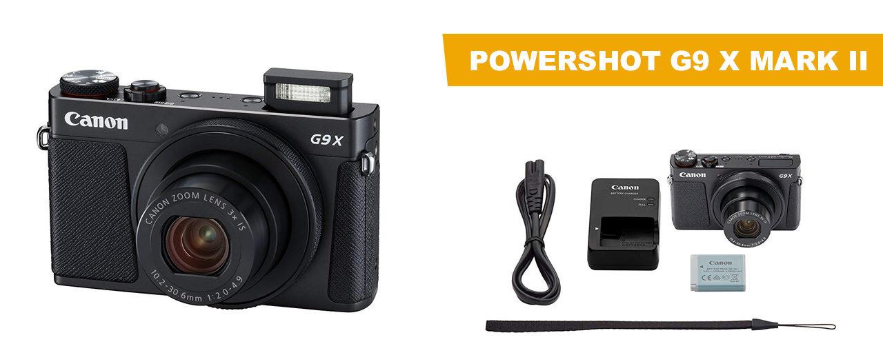 Avis Powershot G9 X Mark II et test du produit par nos soins