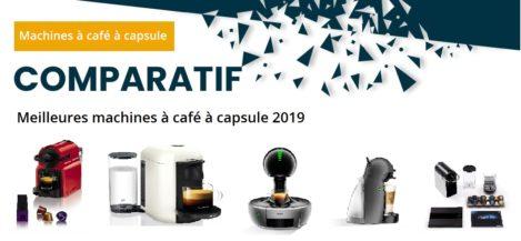 Comparatif machines à café à capsule 2020