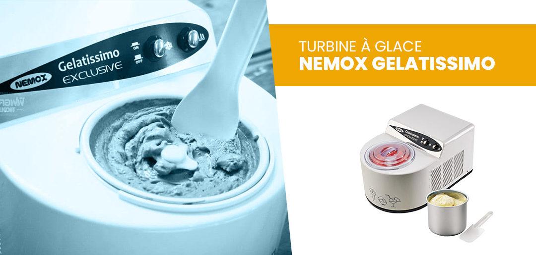 Avis test et prix turbine à glace Nemox Gelatissimo