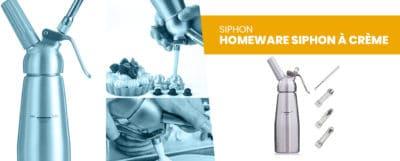 Le Homeware Siphon à crème professionnel : découvrez notre test-avis complet !