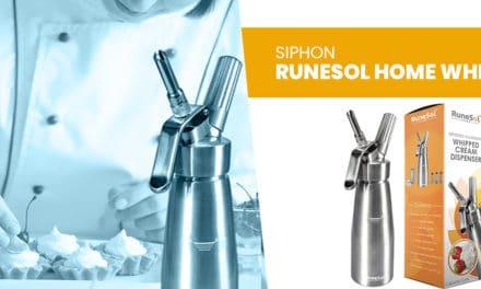 avis : Le RuneSol Home Whipper siphon cuisine