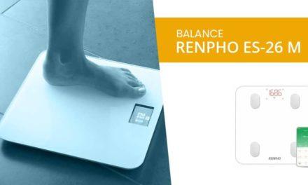 Renpho ES-26M – Balance Impédancemètre Connectée – avis complet 2020