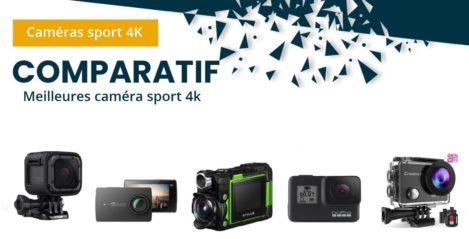Comparatif caméras sport 4K