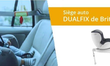 Avis et Test du siège auto DUALFIX de Britax Römer