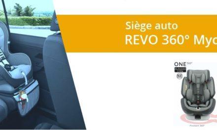 Avis du siège auto revo nania 360 degrés