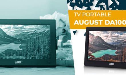 Télévision portable August DA100D TV : découvrez notre avis complet !