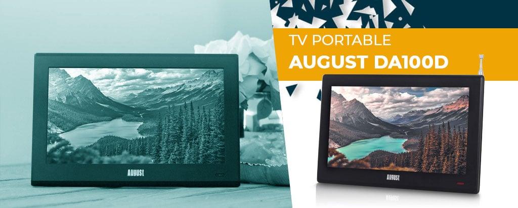 Télévision portable August DA100D TV : découvrez notre test/avis complet !