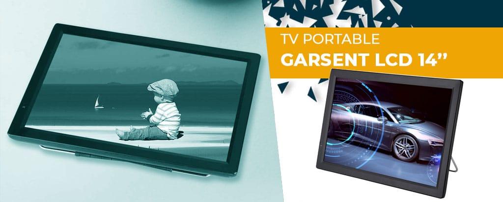 Garsent LCD 14 pouces TV TNTDVB-T-T2 : découvrez notre test/avis complet !
