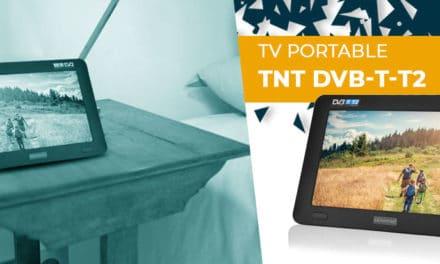 TV numérique Portable avec TNT DVB-T-T2 : découvrez notre test/avis complet !