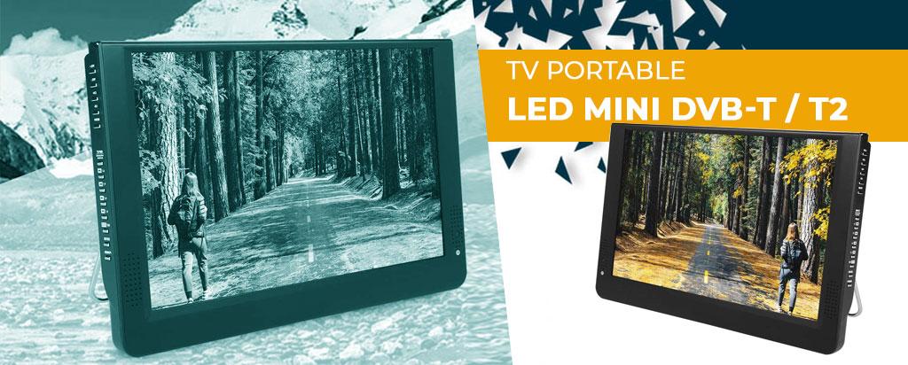 Téléviseur portable 1080P DVB-T/T2 : découvrez notre avis complet !