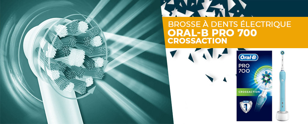 Avis et Test Oral-B Pro 700 CrossAction