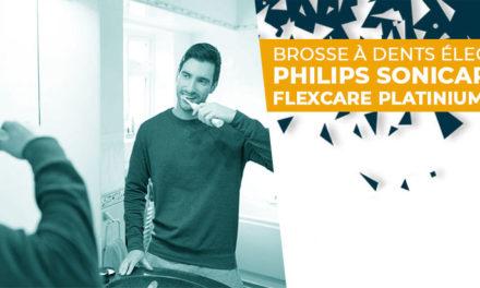 Avis brosse à dent électrique Philips Sonicare FlexCare Platinium