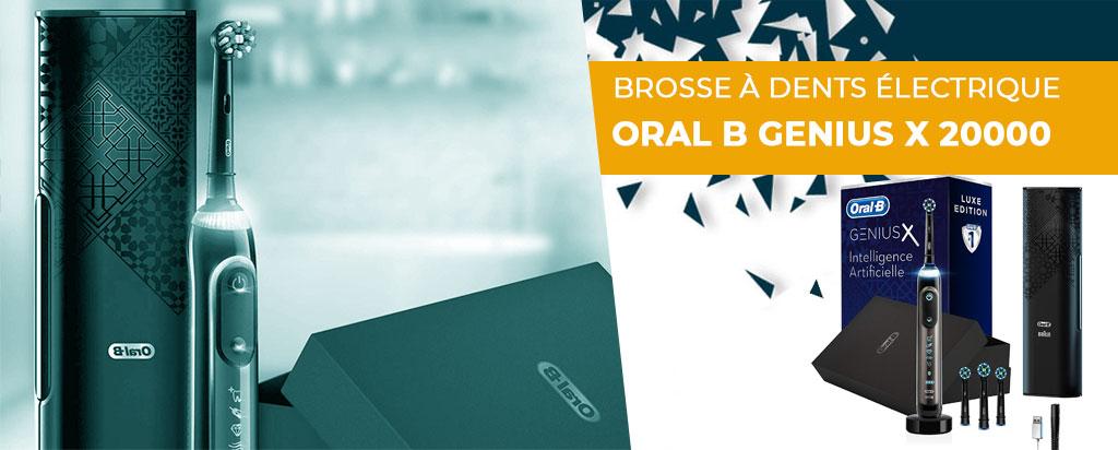 Avis brosse à dents Oral B Genius X 20000